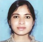 CSIR-NET  Results of Geetashree Saini