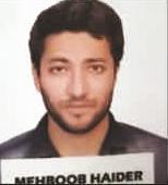 CSIR-JRF  Results of Mehboob Haider