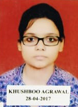 CSIR-JRF Results of Khushboo Agarwal