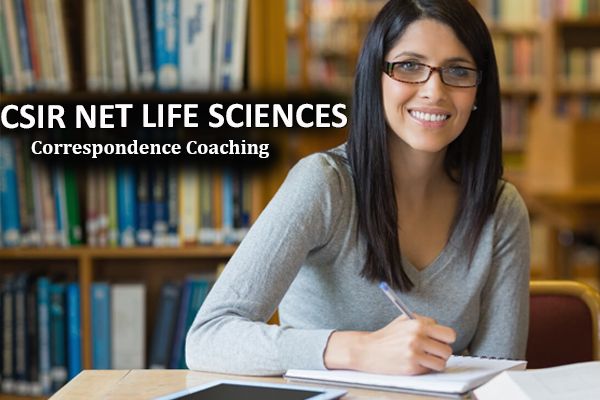 CSIR NET JRF Life Sciences Correspondence and Postal Course Delhi