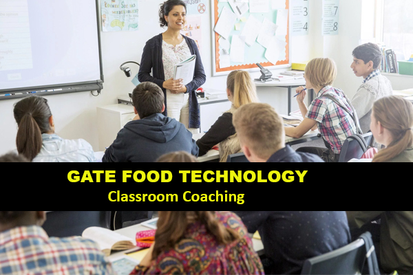 Classroom Coaching/Regular Classes for Food Technology Delhi
